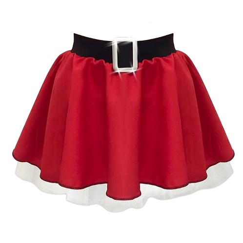 IC356 Santa Belt Circle Skirt