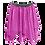 Thumbnail: IC192 Sequin 2 Layer Lyrical Skirt