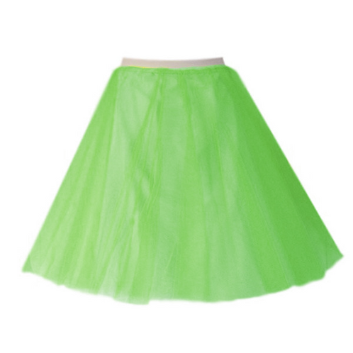 IC310 Green Two Layer Underskirt