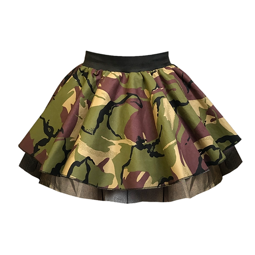 IC141 Camouflage Skirt & Scarf