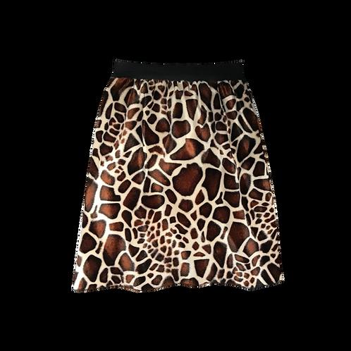 IC154 Giraffe Pencil Skirt