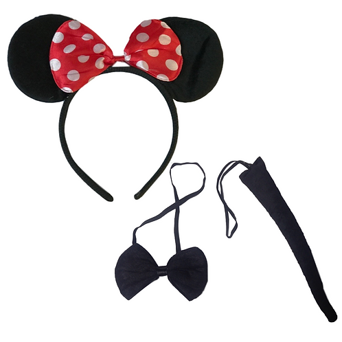 IC296 Red Minnie Accessory Set