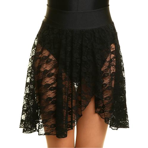 Girls Lace Ballet Skirt