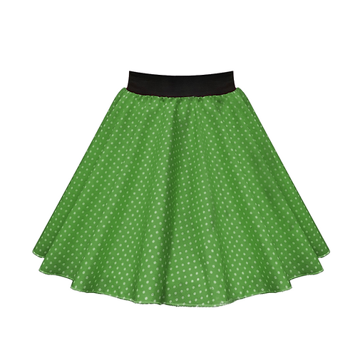 IC269 Green Small Spot Skirt