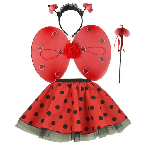 IC107  Ladybird Skirt Costume