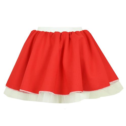 IC236 Red Santa Skirt