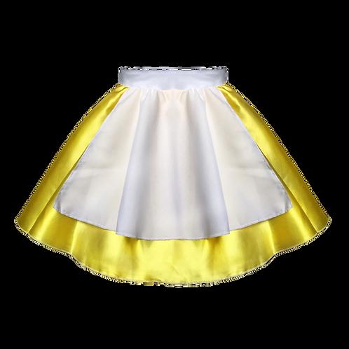 IC148 Satin Apron Skirt