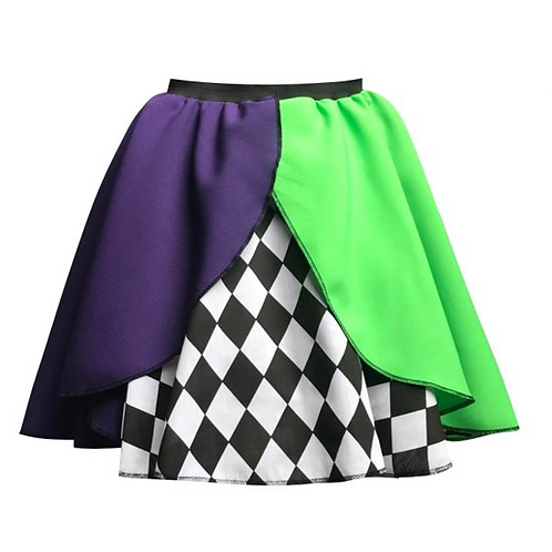IC253 Mad Hatter Layered Skirt