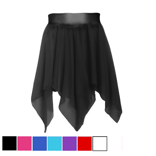 IC196 Lycra Band Lyrical Skirt