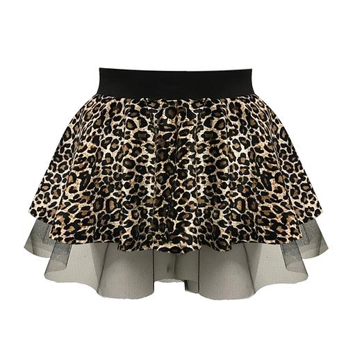 IC126 Leopard Skirt