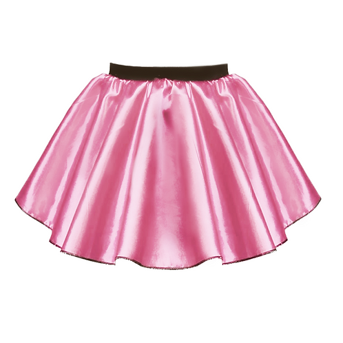 IC190 Short Satin Skirt