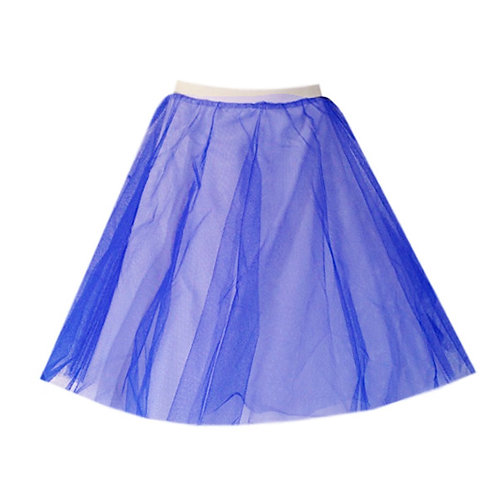 IC310 Blue Two Layer Underskirt
