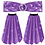 Thumbnail: IC280 Sequin Flares - Trousers Bottoms & Belt