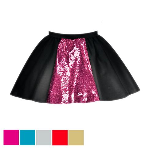 IC191 HIGH SEQUIN PANEL Skirt