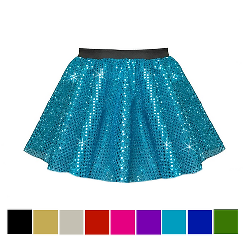 IC194 Sequin Dance Skirt