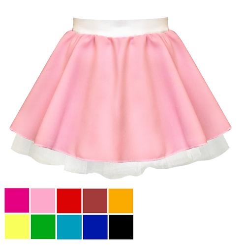 IC159 Pink Ladies Net Skirt