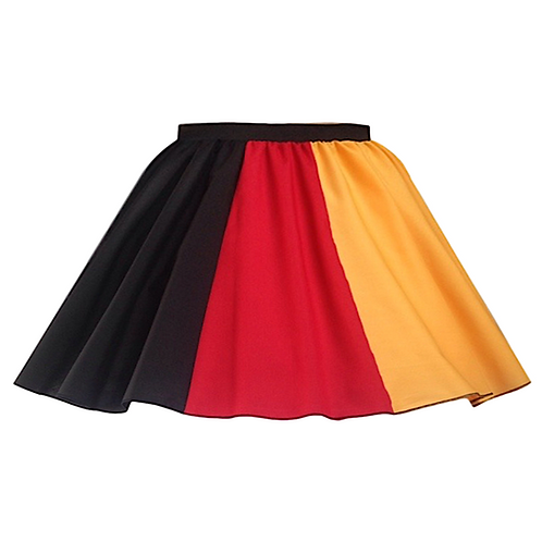 IC228 German Flag Skirt