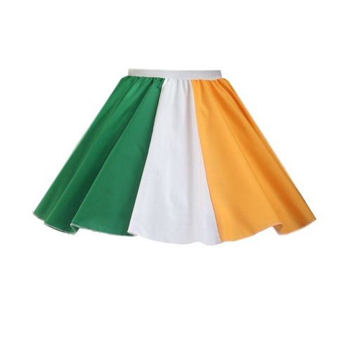 IC223 St Patricks Day Ireland Skirt
