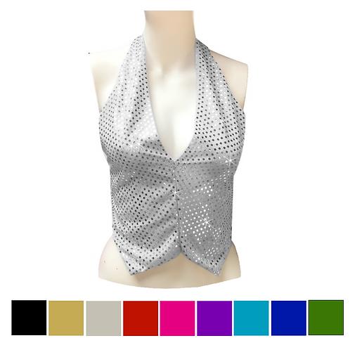 IC210 Sequin Dance Waistcoat