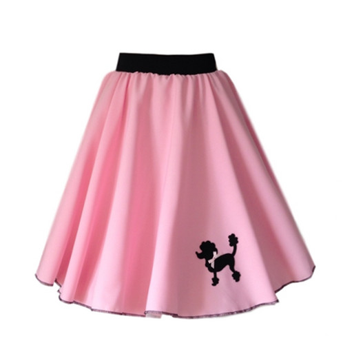 For That Authentic Look True To The 1950s 1960s Our Polyester Fabric Poodle Skirts Are Decorated With A Felt Great Fancy Dress Costume