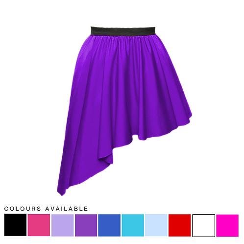 IC188 Asymmetric Dance Skirt
