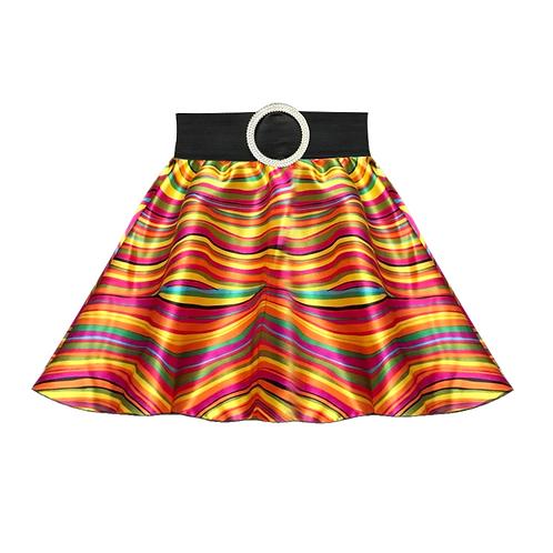 IC279 Multiwave 70's Circle Skirt