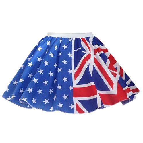 IC222 Australian Flag Skirt
