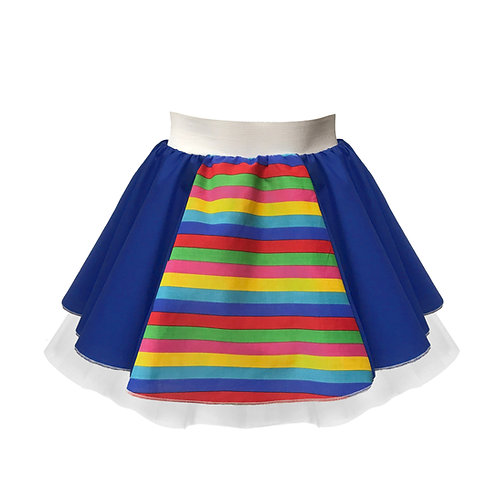 Rainbow Appreciation Skirt & Bow