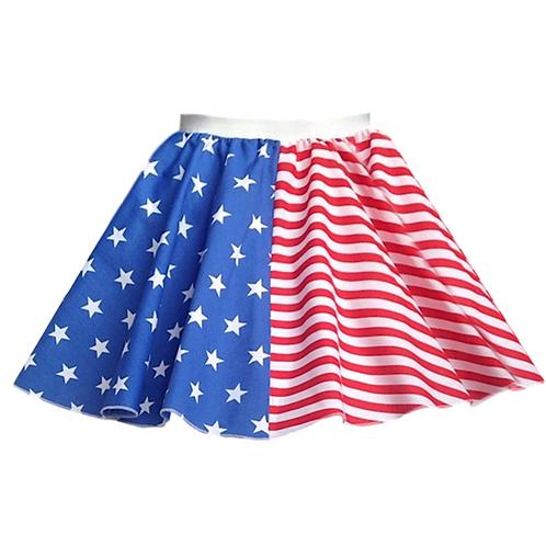 IC224 4th July USA Skirt