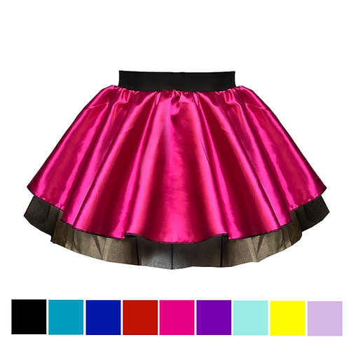 IC125 Short Satin Tutu Skirt