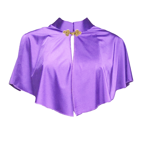 IC322 Purple Show Wear Cape