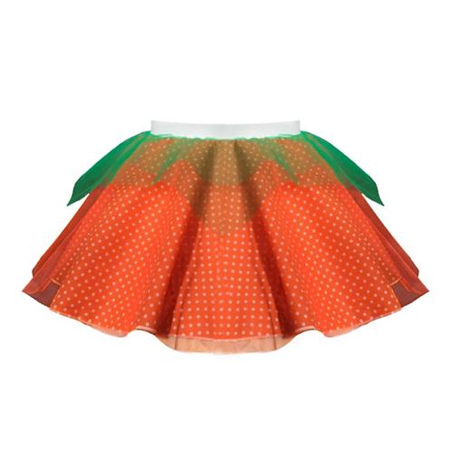 IC233 Pumpkin Spotty Tutu Skirt
