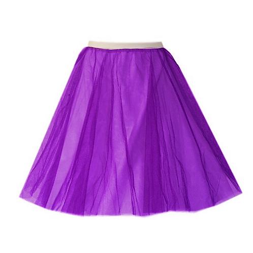 IC310 Purple Two Layer Underskirt
