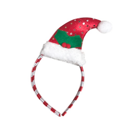 IC282 Santa Hat Headband