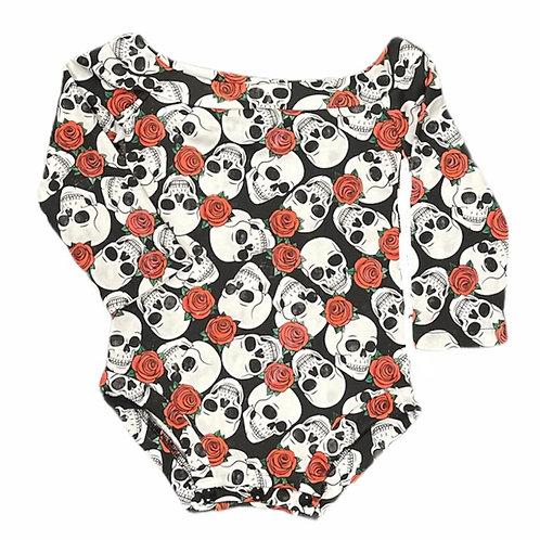 Skulls & Roses OTS Leotard