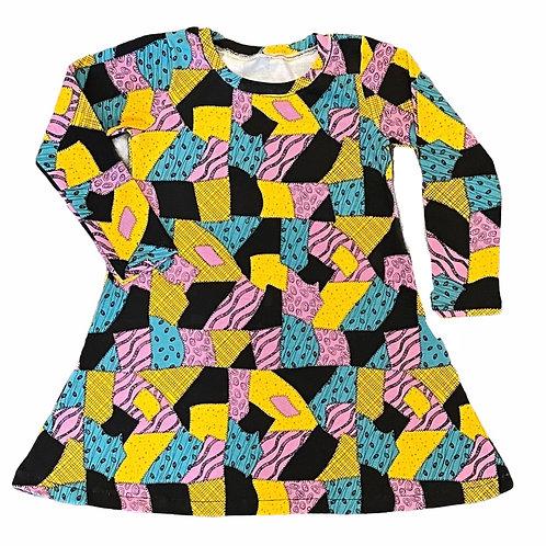 Sally Patch T-Shirt Dress