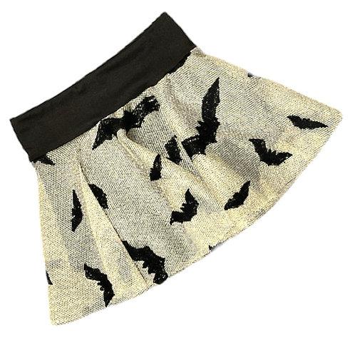 Spooky Bats Skirted Bummie
