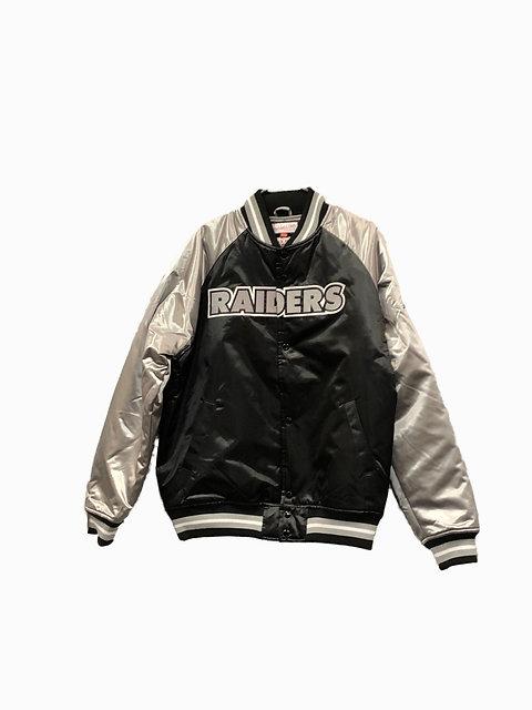 low priced f5696 2ce3d Oakland Raiders NFL Tough Season Starter Jackets