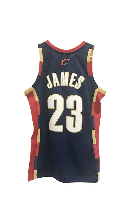 brand new 48a53 3fca7 Cleveland Cavaliers Lebron James Throwback Jersey