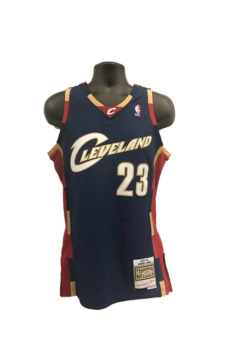brand new 99cfe 95251 Cleveland Cavaliers Lebron James Throwback Jersey