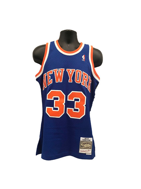 new concept bb6e4 c4a55 New York Knicks Patrick Ewing Throwback Jersey