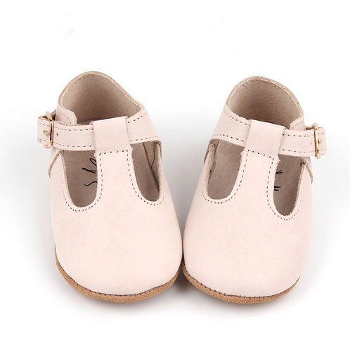 Leather Baby T-Bar Shoes