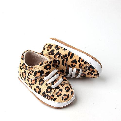Leopard Print Children's Shoes