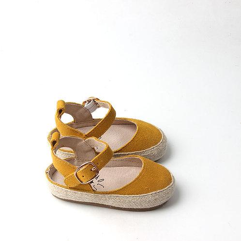 Yellow Baby Sandals