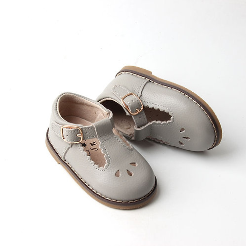Leather Children's T-Bar Shoes