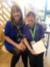 Dr Penny Foulds and Diane Smith