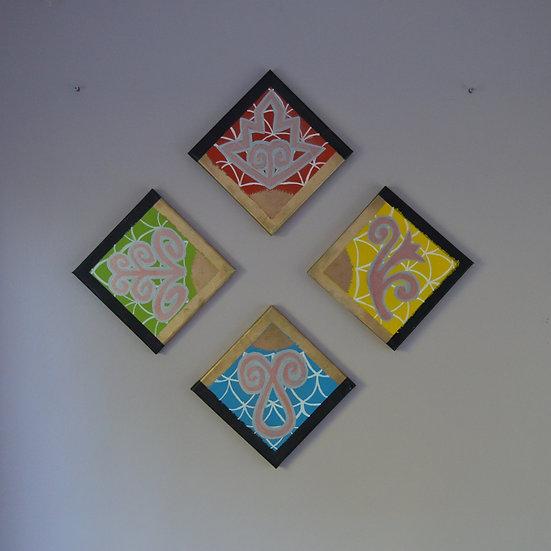 4 Elements Wall Art Rosary
