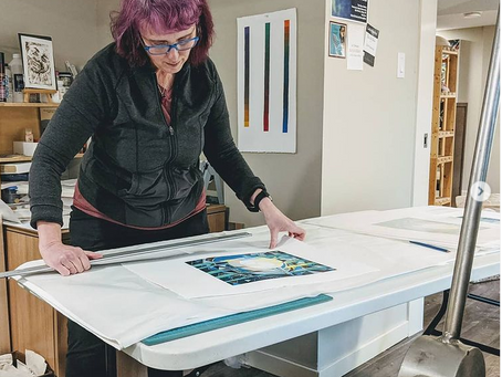 Printmaking with Mary Anne Molcan