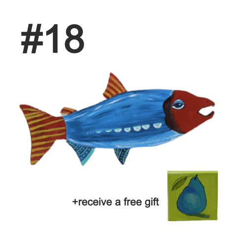 Fish #18 by Kathy Holmes
