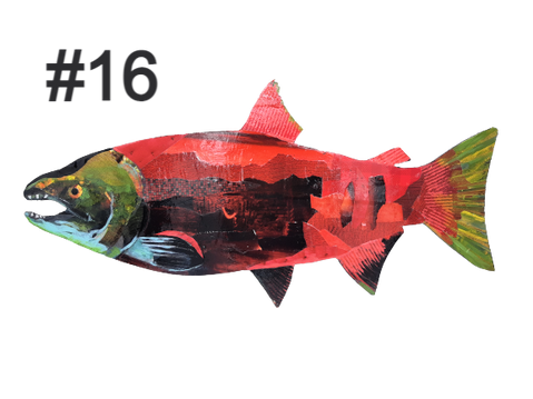 Fish # 16 by Trisha Oldfield